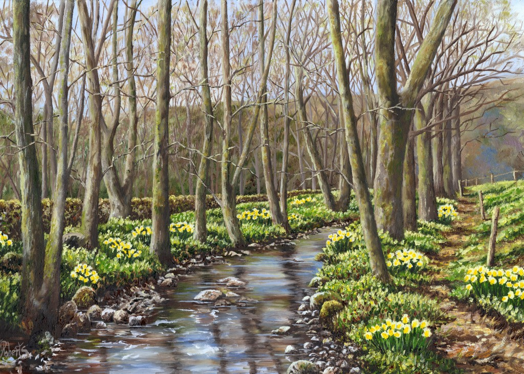 'Daffodils by the River Nidd'